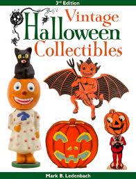 vintage halloween clip art vintage halloween collectibles third edition mark b ledenbach