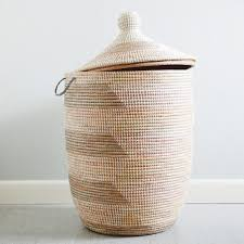Container Store Laundry Hamper by Woven Laundry Clothes Large Hamper In Grey U0026 Cream An Alternative