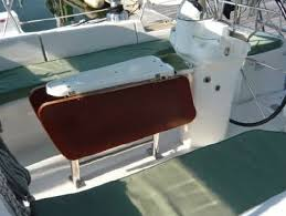 boat tables for cockpit cruising boat designs the cockpit table