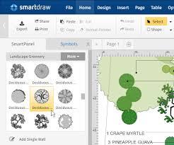 blueprint software try smartdraw free landscape design software free download online app