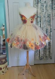 halloween tulle fabric making a fall flower fairy part one flower fairies fairy and