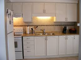 How To Paint Laminate Kitchen Cabinets by Painting Laminate Kitchen Cabinets Before And After U2013 Home