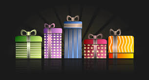 Beautifully Wrapped Gifts - wrapped presents clip art 32
