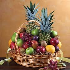 fruit basket arrangements 1 800 flowers deluxe all fruit basket flowers by us