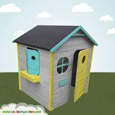 maisonnette de jardin enfant ma première maison de jardin enfant colorée couleur garden