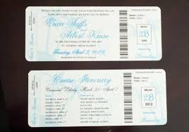 cruise wedding invitations my diy boarding pass invitations cruise wedding wedding