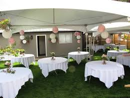 small backyard wedding reception ideas amys office