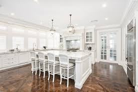Timber Kitchen Designs Stunning Traditional Kitchen Timber Handpainted Marble Benchtops