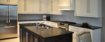Brazilian Home Design Trends Beautiful Black Granite Kitchen Countertops With White Cabinets