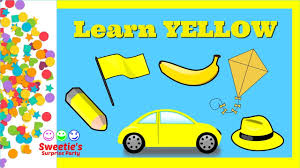 Color Yellow Learn The Color Yellow Preschool And Toddler Learning Learn