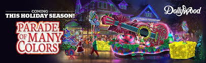 dollywood christmas lights 2017 dollywood christmas parade of many colors new for 2016
