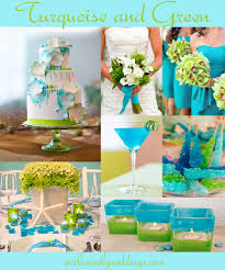 turquoise wedding color u2013 seven perfect combinations exclusively