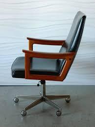Modern Desk Chair Mid Century Modern Teak Desk Chair In The Style Of Arne