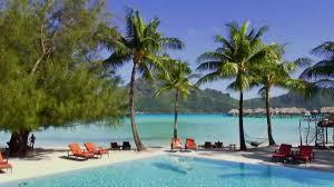 intercontinental bora bora resort u0026 thalasso spa youtube