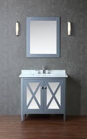 One Sink Bathroom Vanities by Ariel By Seacliff Summit 36