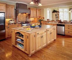 Kitchen With Light Cabinets Dark Maple Kitchen Cabinets Decora Cabinetry