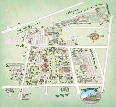 Adrian Michigan Map by Campus Maps