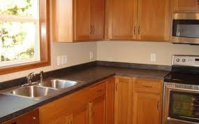 interior black laminate kitchen countertops with stainless