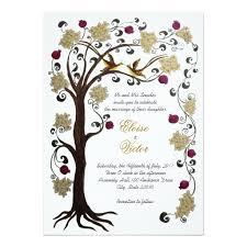 Jewish Wedding Invitations Colorful Jewish Tree Of Life Wedding Invitation Collection