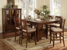 black square kitchen table sets floral pattern rug under of also