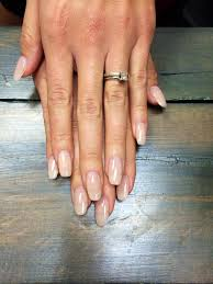 natural looking oval acrylic nails google search winter
