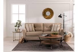 Living Spaces Sofas by Laryn Khaki Sofa Living Spaces
