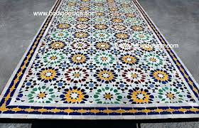 Mosaic Table L Mosaic Table Top How Glass Mosaic Tabletop Designs Newbedroomclub