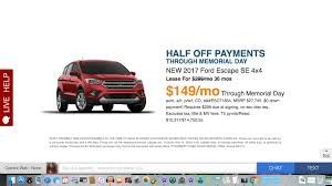 Ford Escape Msrp - 17 ford escape deal or no deal ask the hackrs leasehackr forum