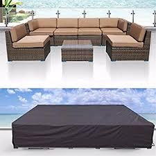 Lounge Patio Furniture Amazon Com Modenzi All Weather Patio Furniture Cover 119