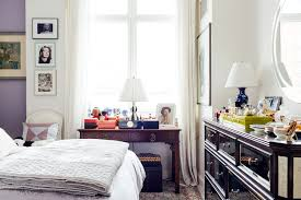 Bedroom Bed In Front Of Window My 680sqft A Staging Professional Mixes Family Heirlooms And