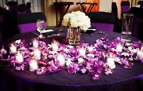 purple wedding centerpieces purple wedding decorations ideas at best home design 2018 tips