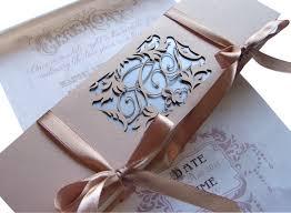 wedding invitations durban fairytale scroll wedding invitation in a personalised box