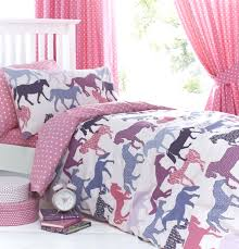 girls pink bedding sets 3 pieces rabbit deer wouldland forest friends flowers pink bedding