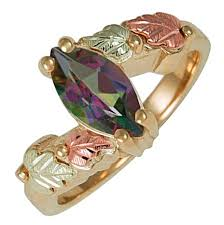 fire rings jewelry images 10k black hills gold mystic fire topaz ring blackhillsgold jpg
