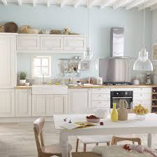cuisine blanc meuble de cuisine blanc delinia cosy leroy merlin