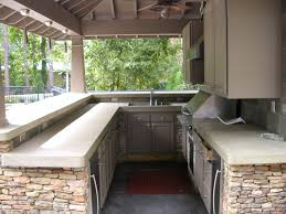 kitchen modern outdoor kitchen designs ideas with brick stone