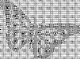 a butterfly cross stitch pattern for free