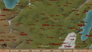 Mount And Blade Map I Know It U0027s Nothing Special But After 175 Hours I U0027ve Finally