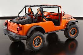jeep cherokee orange moab easter safari delivers seven rugged jeep concepts photos 1