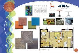 creative interior design boards