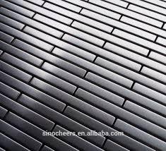 silver stainless steel mosaic tile kitchen metal mosaic backsplash