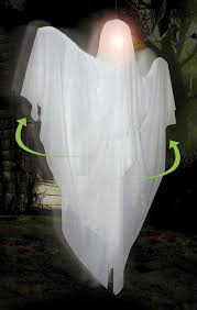 hanging rotating ghost animated halloween prop costumes com au