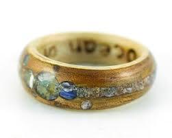 alternative wedding rings alternative wedding rings from eco wood rings crushed
