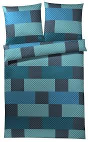 Schlafzimmer Farbe Lagune Joop Bettwäsche Chessboard 4060 4 Mako Satin Lagune
