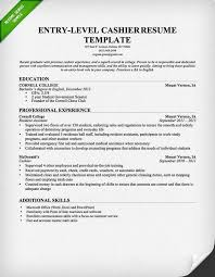 sample resume of cashier unforgettable part time cashiers resume