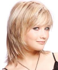 light and wispy bob haircuts medium straight casual hairstyle with side swept bangs light