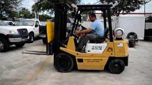 tcm forklift model fg25 youtube