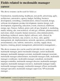 Funny Resume Examples by Mcdonalds Resume Funny Contegri Com
