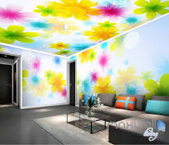 3d wallpaper for bedroom 3d bright watercolor flowers entire living room bedroom wallpaper