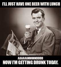 Beer O Clock Meme - musings over a barrel five o clock friday lunch break